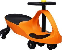 vidaXL Jeździk balansowy dla dzieci z klaksonem pomarańczowy
