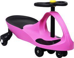 vidaXL Jeździk balansowy dla dzieci z klaksonem  różowy