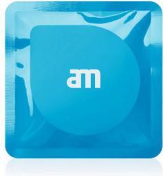 AM Lab Ściereczki antybakteryjne do ekranu 18 szt., niebieskie (85525-12)