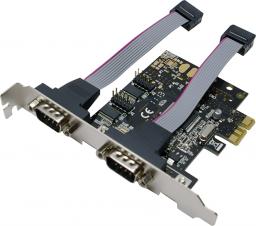 Kontroler LogiLink 2x Serial na PCIe (PC0031)