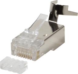 LogiLink wtyczka modułowa RJ45, 10 sztuk  (MP0030)