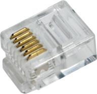 LogiLink Modularne wtyczki RJ45, 100sztuk  (MP0020)