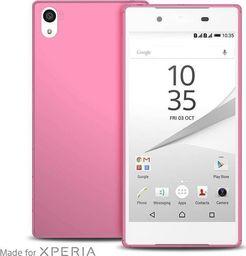 """Puro PURO Ultra Slim """"0.3"""" Cover MFX - Zestaw etui + folia na ekran Sony Xperia Z5 (różowy)"""