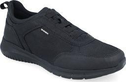 Geox Sneakersy męskie GEOX U15BVC czarny RESPIRA 43