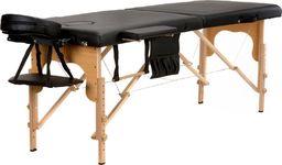 Bodyfit Stół, łóżko do masażu 2-segmentowe drewniane