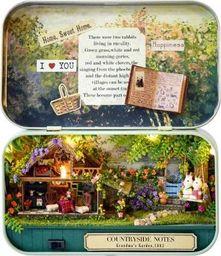 KIK Domek dla lalek w pudełku miniaturka chatka