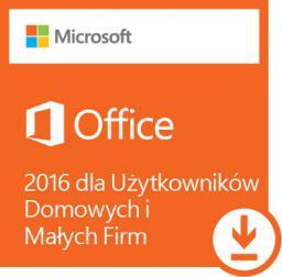 Microsoft Office 2016 dla Użytkowników Domowych i Małych Firm (T5D-02316)