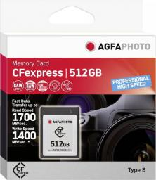 Karta AgfaPhoto Professional High Speed CFexpress 512 GB  (10442)