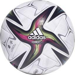 Adidas Piłka adidas Conext 21 Ekstraklasa PRO GU1550 GU1550 biały 5