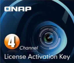 Newstar Aktywacyjna licencja na 4 kanały dla usługi Surveillance Station Pro w urządzeniu QNAP NAS (LIC-CAM-NAS-4CH)