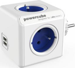 PowerCube Rozgałęźnik Original USB niebieski (2202BL/FROUPC)
