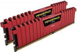 Pamięć Corsair Vengeance LPX, DDR4, 16 GB,2400MHz, CL16 (CMK16GX4M2A2400C16R)