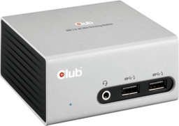 Stacja/replikator Club 3D SenseVision USB 3.0 4K UHD Mini Docking Station (CSV-3104D)