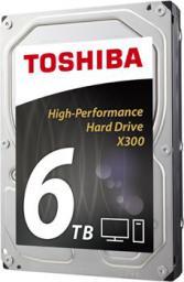 "Dysk Toshiba X300 6 TB 3.5"" SATA III (HDWE160EZSTA)"