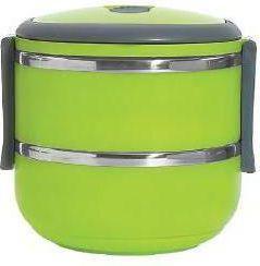 Promis Pojemnik obiadowy dwupoziomowy zielony (TM140)