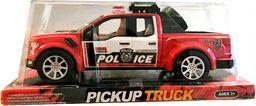 Smily Play Policja Czerwony Pickup truck 27 cm samochód radiowóz policyjny