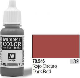 Vallejo Farba Nr32 ciemnoczerwona - (70946)
