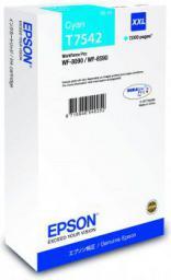 Epson Tusz T7542 Cyan  69ml (C13T754240)