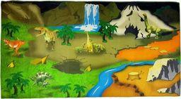 Import leantoys Mata na podłogę Farma dywan z dinozaurami