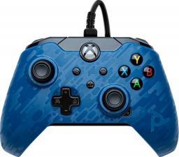 Gamepad PowerA Camo Blue New (049-012-EU-CMBL)