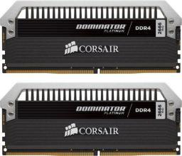 Pamięć Corsair Dominator Platinum, DDR4, 16 GB,3200MHz, CL16 (CMD16GX4M2B3200C16)