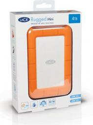 Dysk zewnętrzny LaCie Rugged Mini, 4TB (LAC9000633)