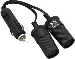 Blow Rozgałęziacz zapalniczki samochodowej 1XWT/2XGN + kabel CS-25 (5900804073765)