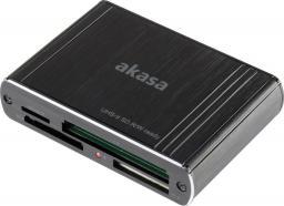 Czytnik Akasa AK-CR-08BK USB 3.0