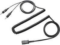 Kabel Plantronics Quick Disconnect (QD) MiniJack 3.5 mm, Czarny (28959-01)