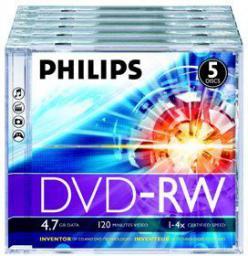 Philips DVD-RW 4.7GB (DN4S4JO5F/00)