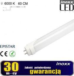 Świetlówka Nvox liniowa T8 9W  (V31AC-INOXX 60T8K6000 AL MI FS 1S)