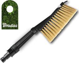 Bradas Szczotka 2-funkcyjna z dyszą, z przyłączem do wody, włos SOFT BRADAS 8788