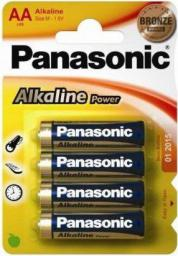 Panasonic Bateria Power AA / R6 4szt.