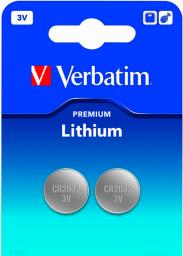 Verbatim Bateria CR2032 2szt.