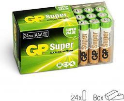 GP Battery Bateria Super AAA / R03 24szt.