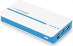Powerbank Esperanza 11000mAh, biało-niebieski (EMP107WB)