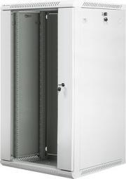 "Szafa Lanberg wisząca, 19"",  22U,  600x600, szara  (FLAT PACK) (WF01-6622-10S)"