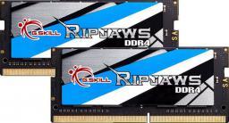 Pamięć do laptopa G.Skill Ripjaws DDR4 SODIMM 2x16GB 2400MHz CL16  (F4-2400C16D-32GRS)