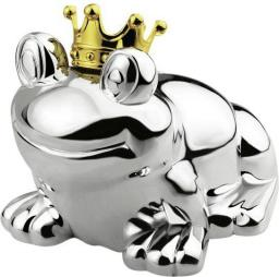Zilverstad Money box Frog king silver 6144261