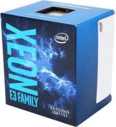 Procesor serwerowy Intel Xeon E3-1220V5,  3.5GHz Socket 1151, Box (BX80662E31220V5 944506)