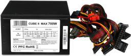 Zasilacz iBOX CUBE II 700W (ZIC2700W12CMFA)