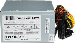 Zasilacz iBOX CUBE II 500W (ZIC2500W12CMFA)