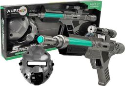 Import leantoys Pistolet Laserowy Zestaw Kosmiczny Space z Maską
