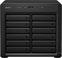 Macierz dyskowa Synology DX1215 Macierz HDD 12-zatok Hotswap Infiniband