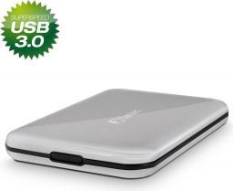 """Kieszeń Fantec USB 3.0 / 2.5"""" HDD SATA srebrna ALU-25U3 1496"""