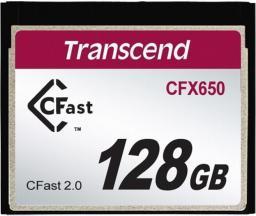 Karta pamięci Transcend CFast 128GB (TS128GCFX650)
