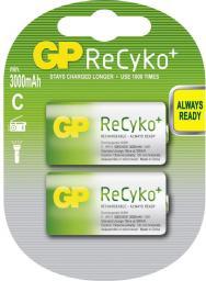 GP Battery 1x2 GP ReCyko+ Baby C NimH (125300CHBC2)