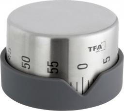 Minutnik TFA mechaniczny srebrny (38.1027.10)