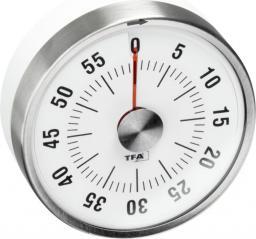 Minutnik TFA mechaniczny srebrny (38.1028.02)