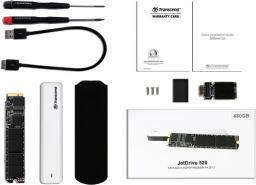 Dysk zewnętrzny Transcend JetDrive 500 960GB USB 3.0 (TS960GJDM500)